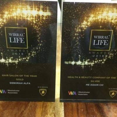 Wirral Life Awards For Deborah Alfa Hair Beauty