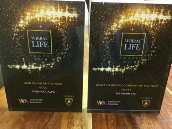 Wirral Life Awards For Deborah Alfa Hair Beauty